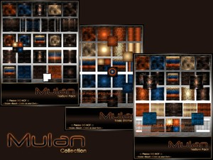 Mulan Texture Pack Collection-- $10.50