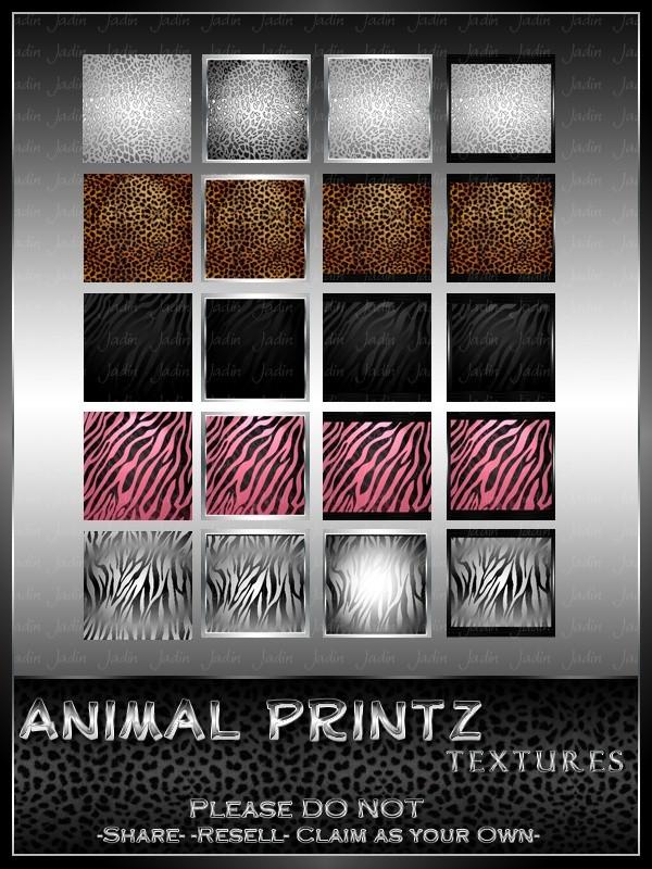 Animal Printz Texture Pack --- $3.00