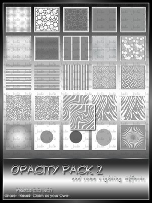 Opacity Pack 2 --- $1.00