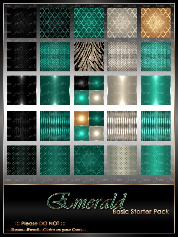 Emerald Basic Texture Pack-- $2.00
