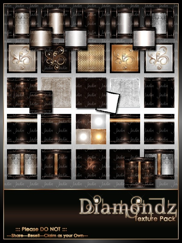 Diamondz Texture Pack -- $13.00