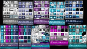 Complete Frozen Texture Pack Collection-- $25.00