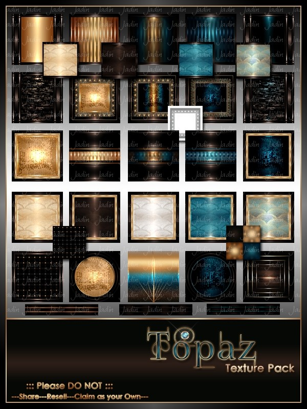 Topaz Texture Pack-- $13.00