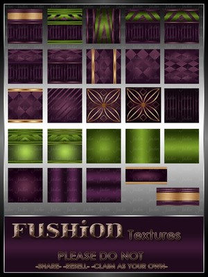 Fushion Texture Pack --- $3.00