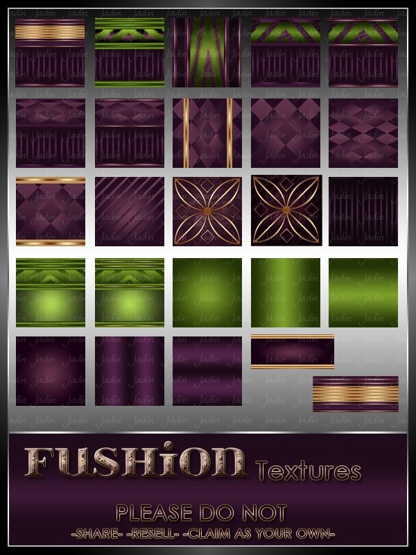 Fushion Texture Pack --- $3.00