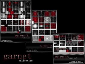 Garnet Birthstone Collection-- $15.00