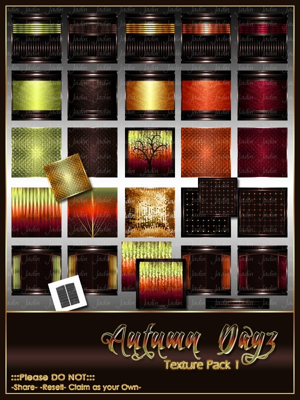Autumn Dayz Texture Pack 1 -- $12.00