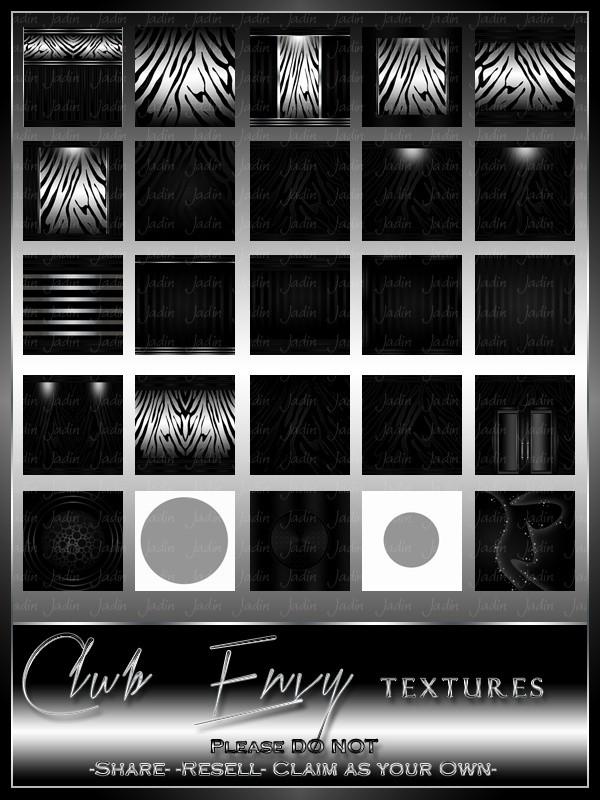Club Envy Texture Pack --- $4.00
