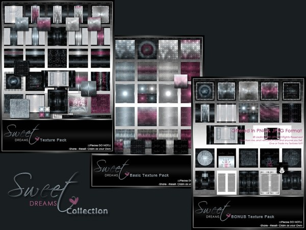 Sweet Dreams Texture Pack Collection-- $15.00