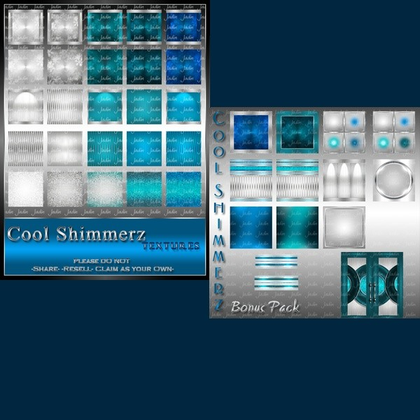 Cool Shimmerz Texture Pack-- $3.00