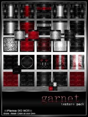 Garnet Texture Pack-- $13.00