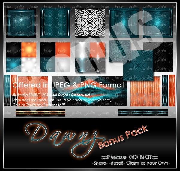 Dawnz Texture Pack-- $10.00