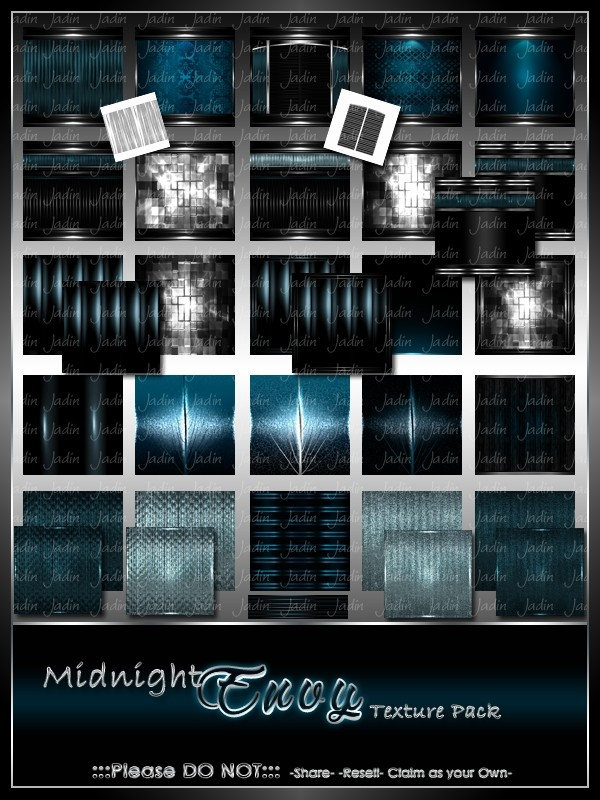 Midnight Envy Texture Pack-- $8.00