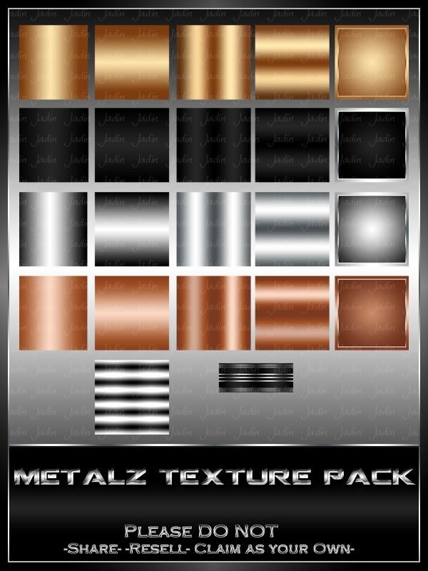 Metalz Texture Pack --- $1.00