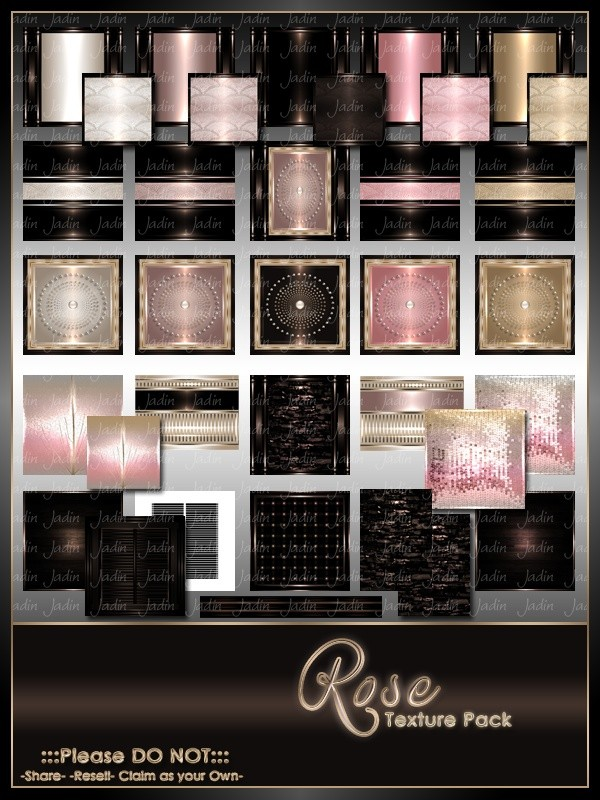 Birthstone October--Rose Texture Pack-- $13.00