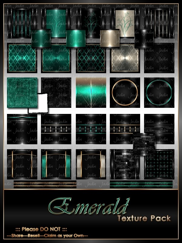 Emerald Texture Pack-- $13.00