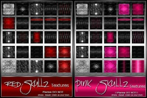 Skullz Texture Pack Collection-- $12.00