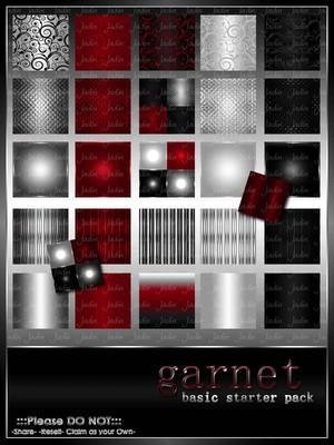 Garnet Basic Texture Pack-- $2.00