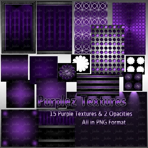 Purplez Texture Pack --- $2.00