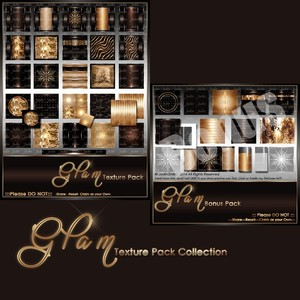 Glam Texture Pack-- $8.00
