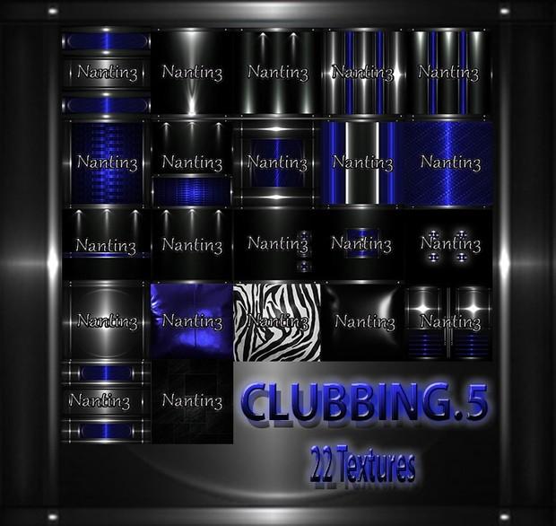CLUBBING 5 FILES 22Textures 256x256jpg.