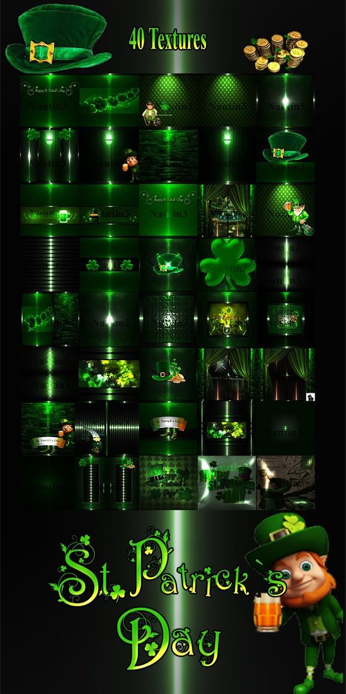 St.Patrick 's Day files 40Texture 256x256jpg
