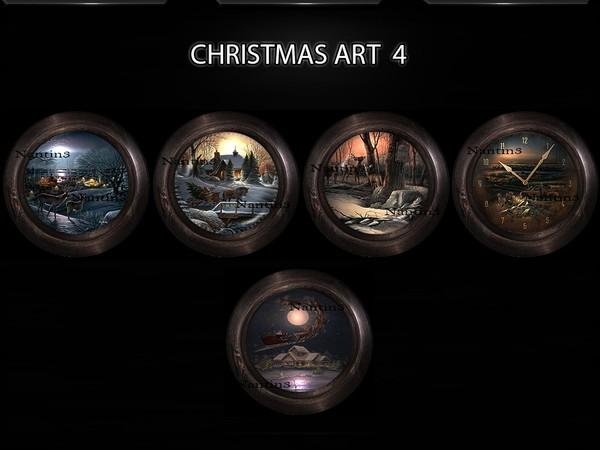 CHRISTMAS ART 4