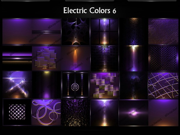 Electric Colors 6 Files by Lexussl 25Textures 256x256jpg.