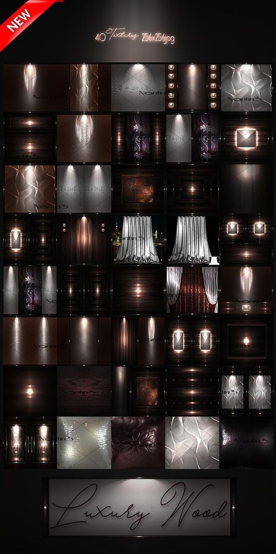 Luxury Wood Files 40Textures 256x256jpg.