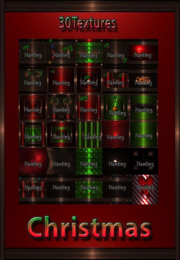 CHRISTMAS FILES 30Textures 256x256jpg.