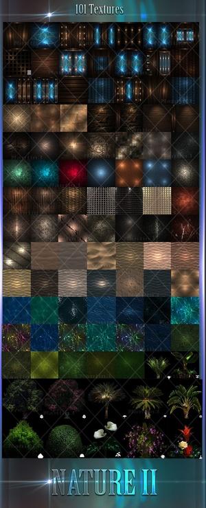 NATURE 2 FILES 101Textures + Opacity 256x256jpg.