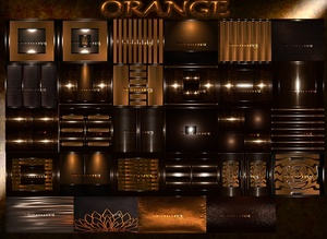 ORANGE FILES 28Textures files 256x256jpg