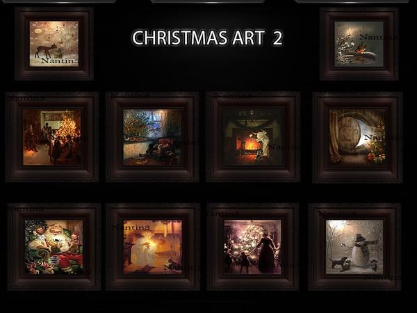 CHRISTMAS ART 2