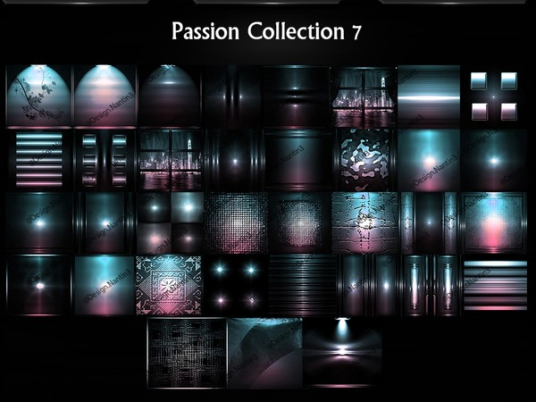 Passion Collection 7 Files 35 Textures