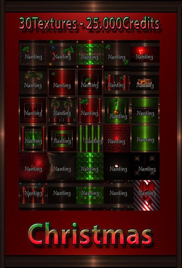 Christmas files 30 Textures 256x256jpg