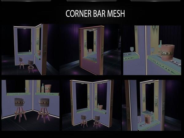 CORNER BAR MESH FILE by Angelon3S