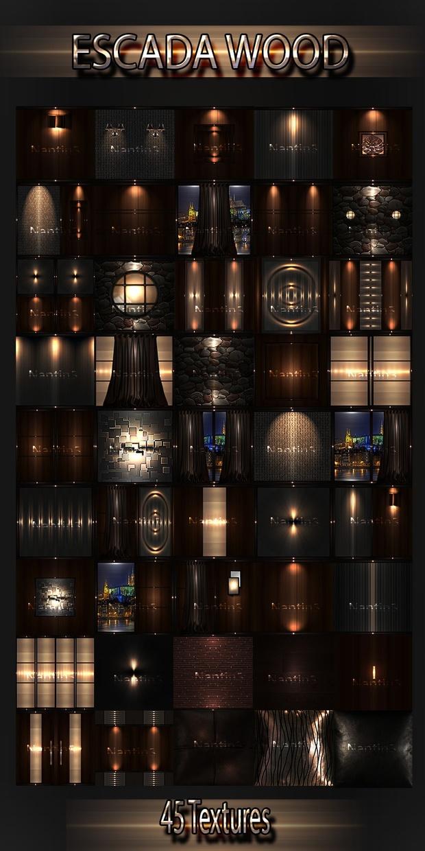 ESCADA WOOD FILES 45Textures 256x256jpg.