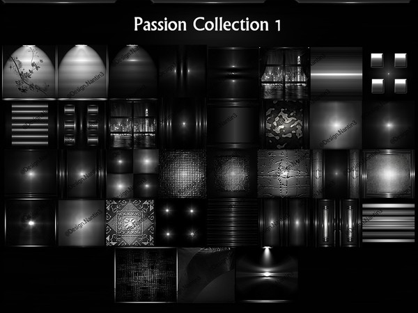 Passion Collection 1 Files 35 Textures