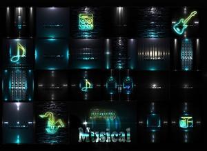 MUSICAL FILES 20Textures 256x256jpg.