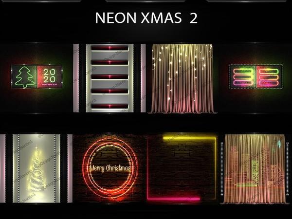 NEON XMAS FILES 2 ..42 Textures 256x256jpg.