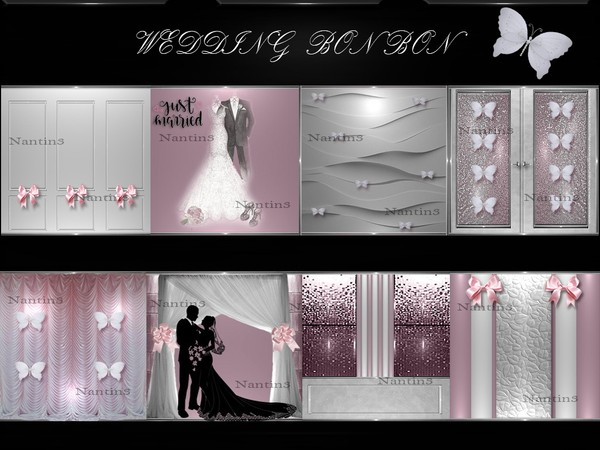 WEDDING BON BON FILES  51Textures 256x256jpg.