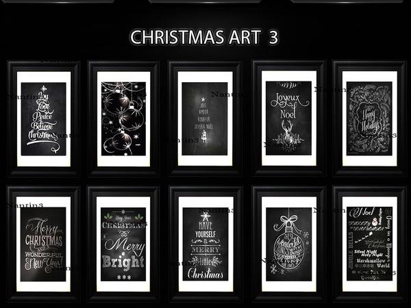 CHRISTMAS ART 3