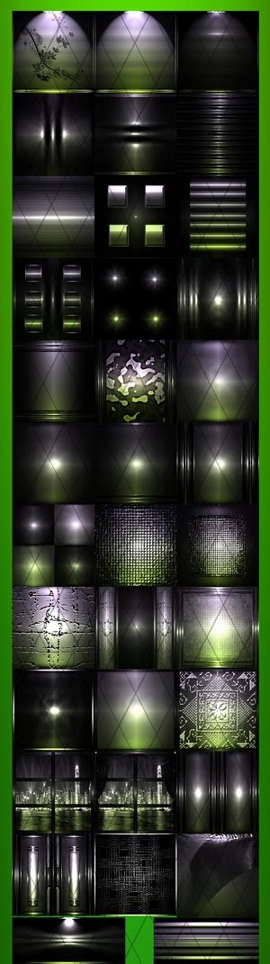 FOCUS LIGHT GREEN FILES 35Textures 256x256jpg.