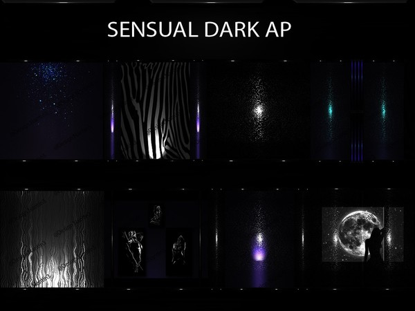 SENSUAL DARK AP FILES 45Textures 256x256jpg.