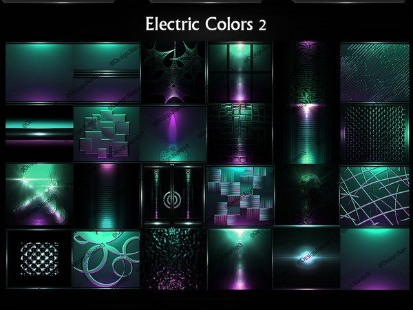 Electric Colors 2 by Lexussl 25Textures 256x256jpg.