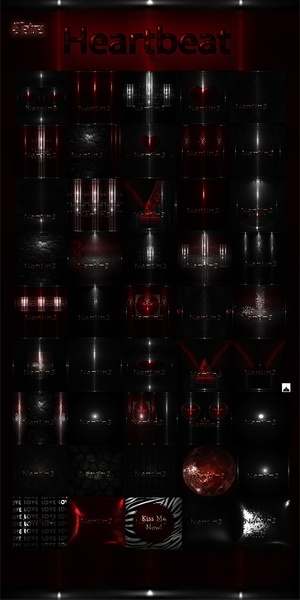 HeartBeat files 45Textures 256x256jpg.