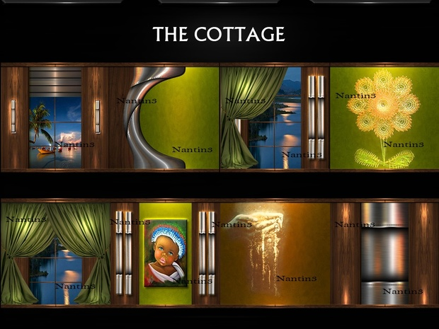 THE COTTAGE FILES 36 Textures 256x256jpg.