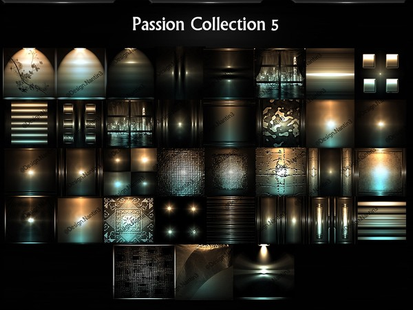 Passion Collection 5 Files 35 Textures