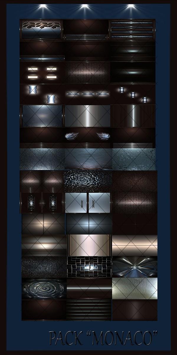 MONACO FILES 42Textures 256x256jpg.