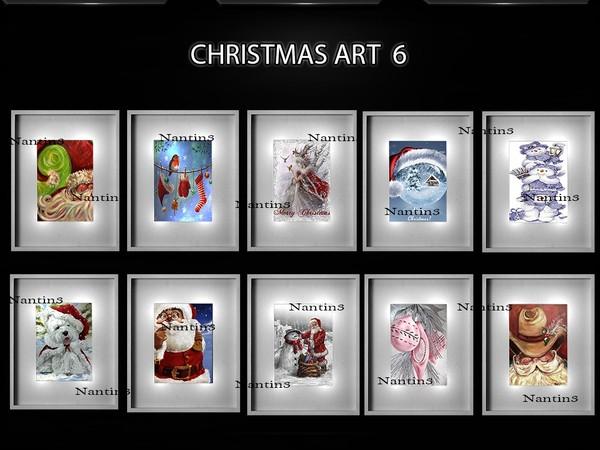 CHRISTMAS ART 6